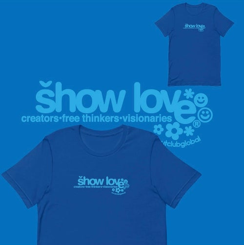 Image of Show Love! Tee (Blue)
