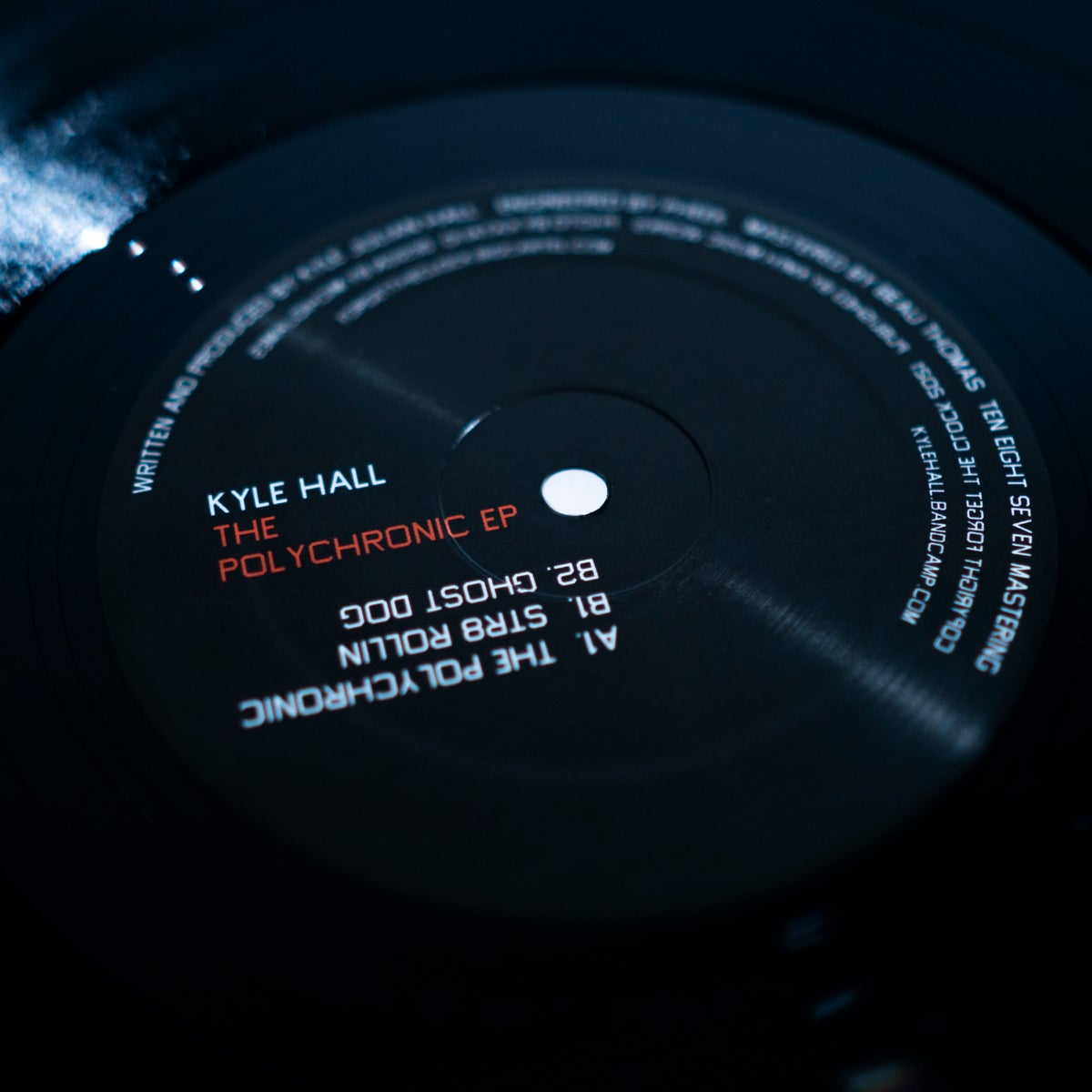 Image of Kyle Hall - The Polychronic EP - FTC04