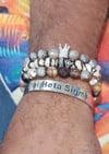 Phi Beta Sigma Cuff Bracelet