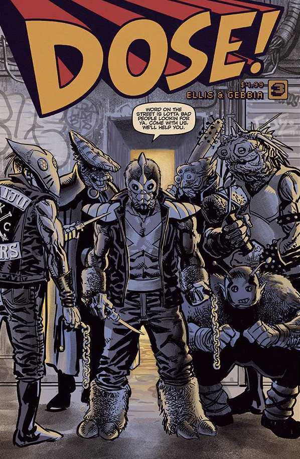 Image of DOSE! #3 (COVER B)