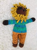 Leo the Lion Crocheted Soft Toy