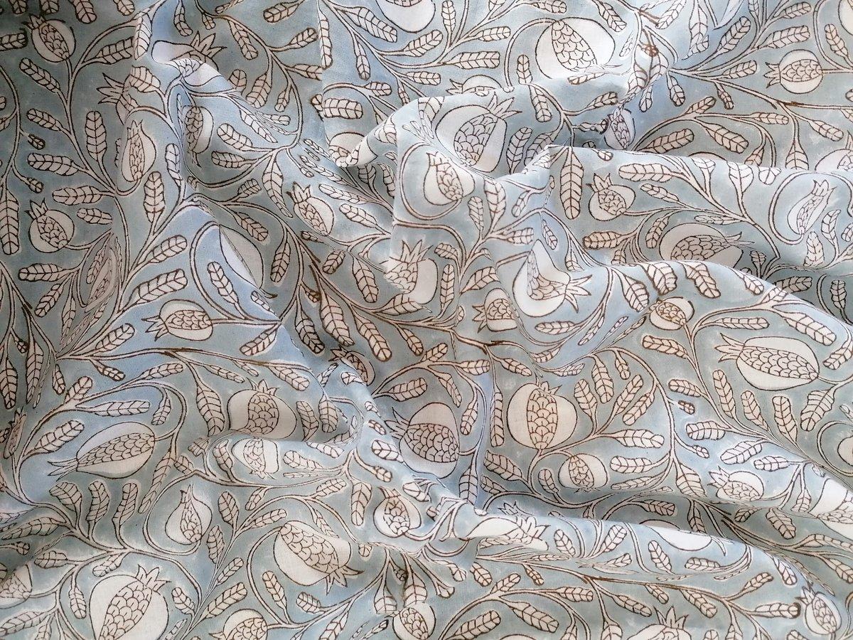 Image of Namasté fabric goji