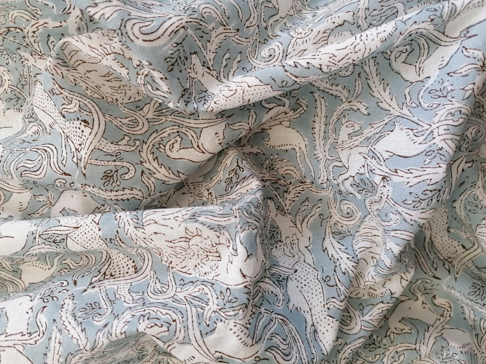Image of Namasté fabric chasse