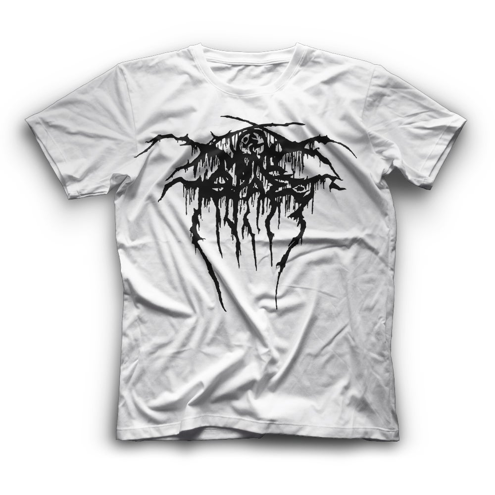 Image of Darkthrone/D.R.I. tribute (Λευκό με μαύρο logo - Limited Edition)