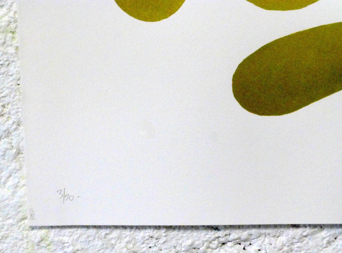 Image of 'Voyou! (Gold)'. 70x50 cm.  Signé-numéroté x20.