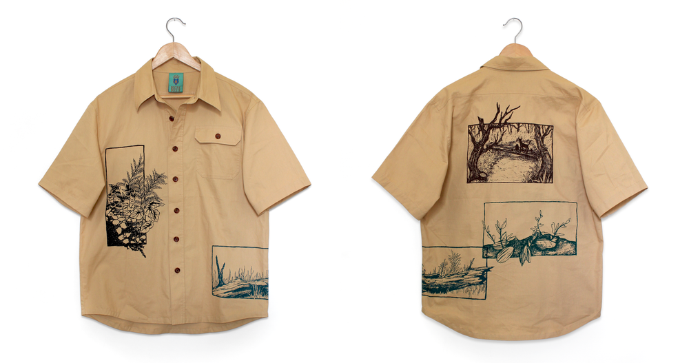 Image of Lines & Boxes Cargo Shirt