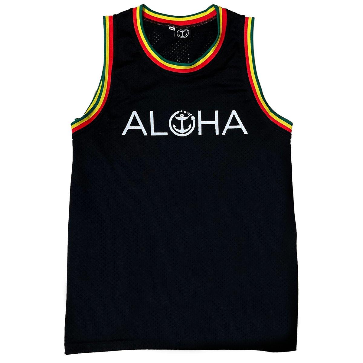 Aloha Beach! Jersey - BLK-R