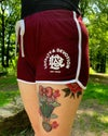 Retro Shorts (Burgandy)