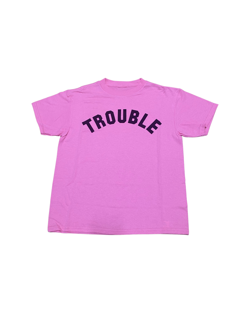 Image of TROUBLE TEE PINK