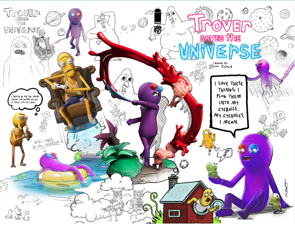 Trover Saves the Universe #1 - Variant - 2 Pack