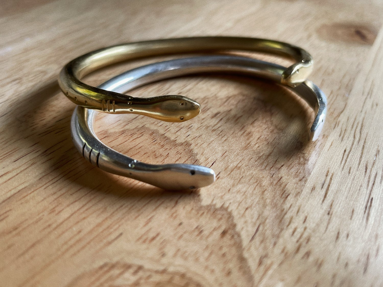 Image of  NEW: Double Headed Serpent Cuff