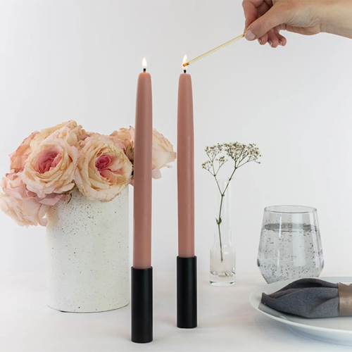 Image of Mo&Co Dipped Beeswax Taper Candles