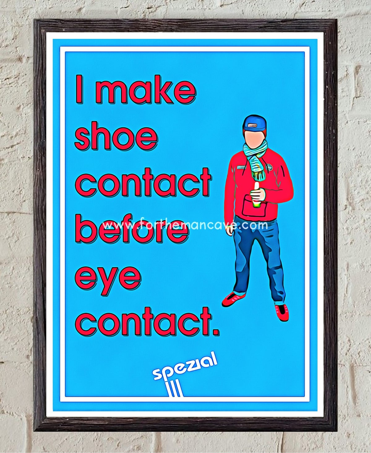 Image of ADIDAS SPEZIAL - SHOE CONTACT FIRST - TODMORDEN PRINT