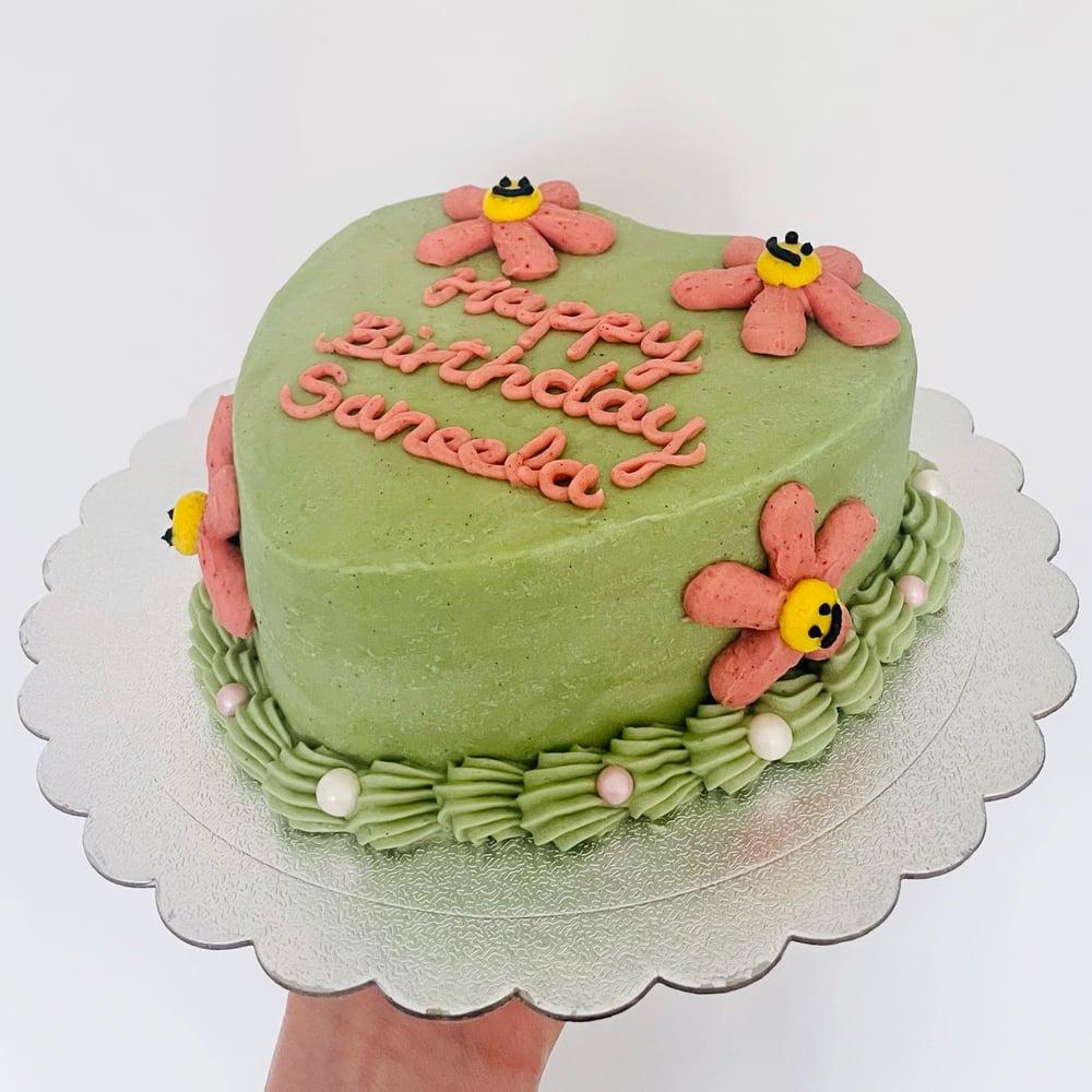 Image of Daisy Smiley Cake