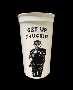 Image of 20 oz. CHUCKIE COLLECTORS CUP (FREE-SHIPPING ON THIS ITEM ONLY)