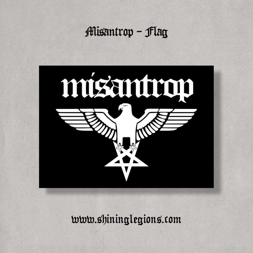 """Image of Shining """"Misantrop"""" Flag"""