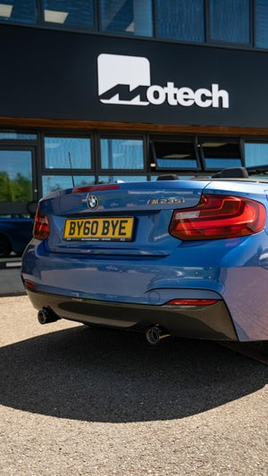 Image of BMW M235i Remus Exhaust