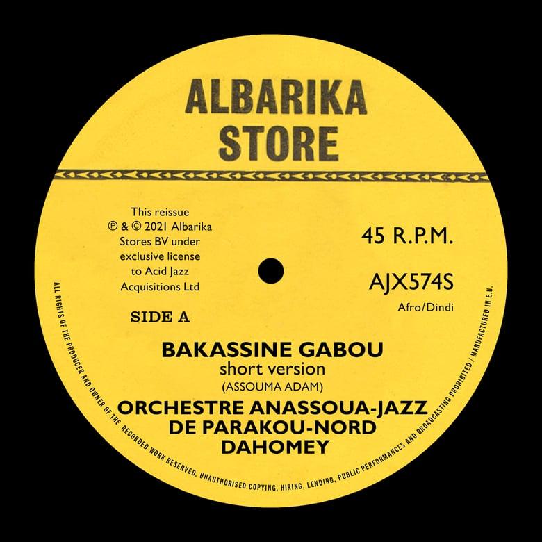 "Image of Orchestre Anassoua-Jazz De Parakou-Nord - Bakassine Gabou/Moumouni Bassina Borou Fo 7"""