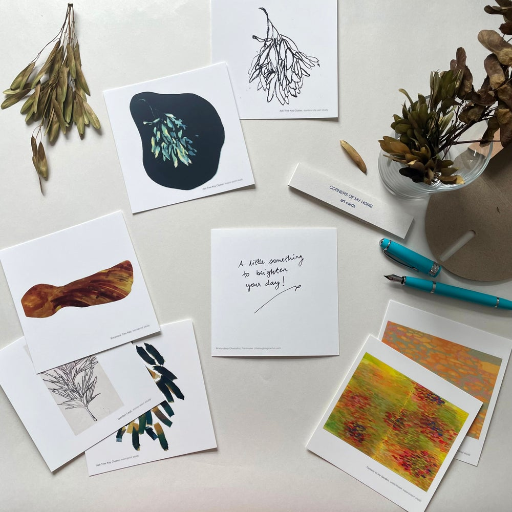 Image of Corners of My Home Art Cards