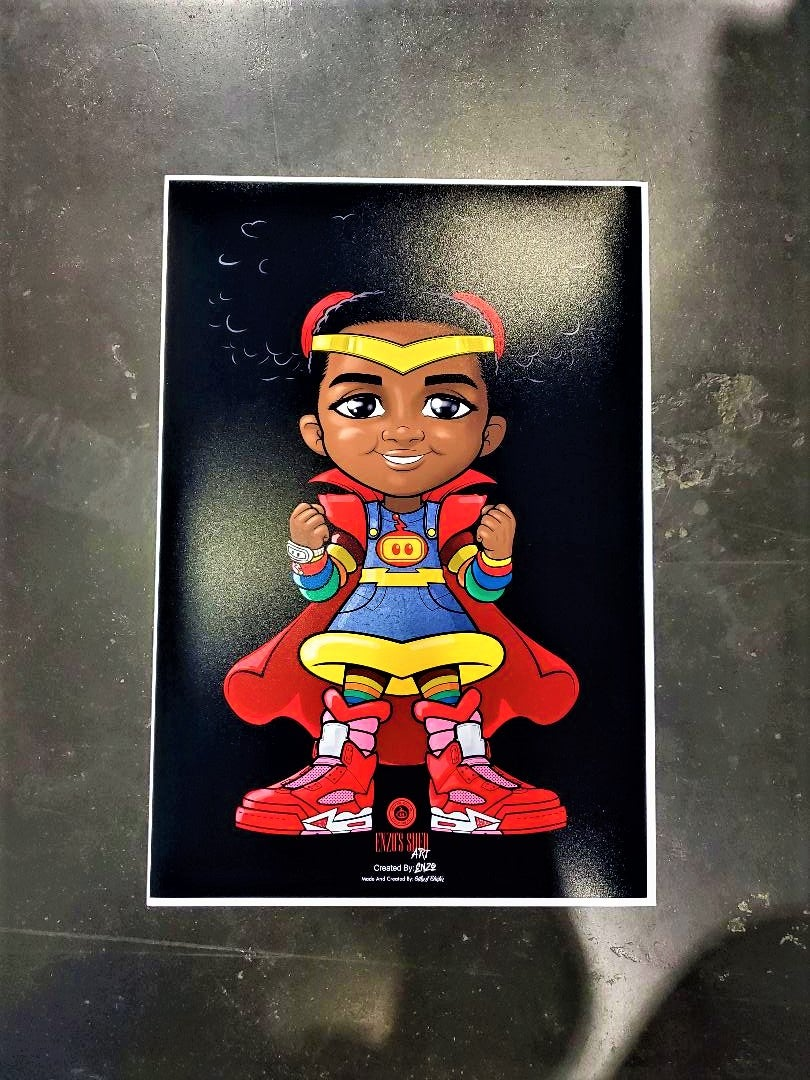 Image of Super Genesis Poster 13x19
