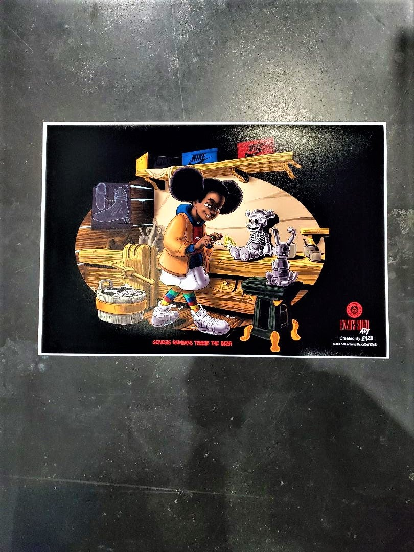 Image of Genesis's Creation Poster 13x19