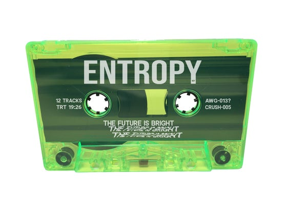 Image of Entropy - The Future Is Bright Cassette (Matrix Green) ***PREORDER***