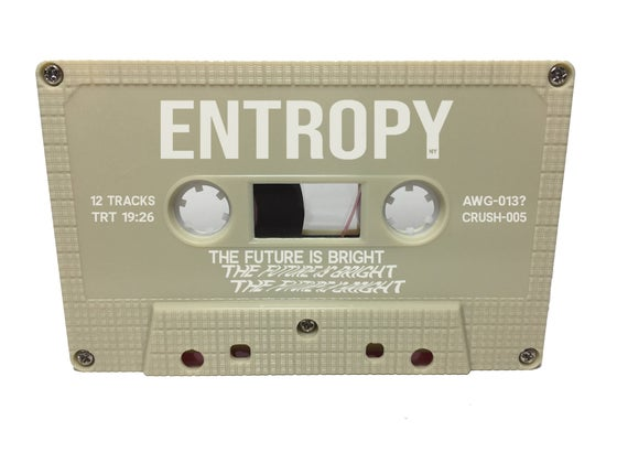 Image of Entropy - The Future Is Bright Cassette (Trashed Computer) ***PREORDER***