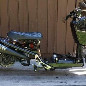 "Image of ""Right Side"" Honda Ruckus Drum Brake Foot Lever"
