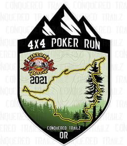 Image of Piston's Wild 2021 Poker Run - Event Badge