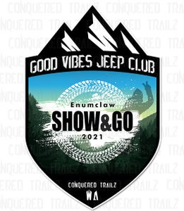 Image of Good Vibes Jeep Club 2021 Show & Go - Event Badge