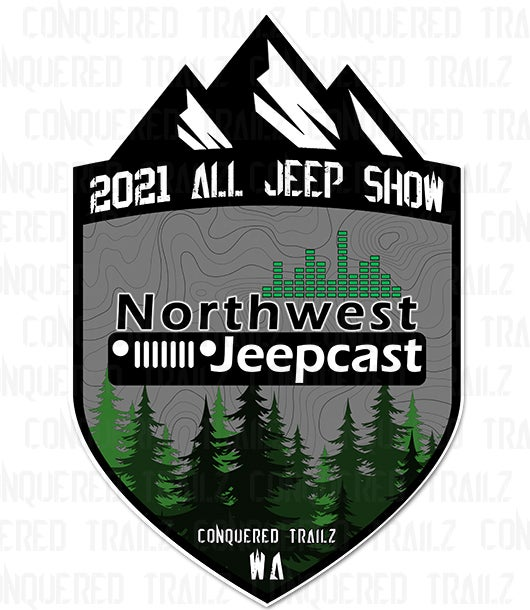 Image of Northwest Jeepcast All Jeep Show 2021 - Event Badge