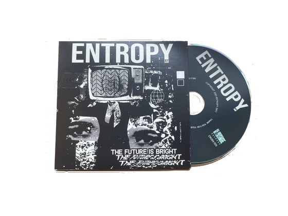 Image of Entropy - The Future Is Bright (CD) ***PREORDER***