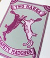 Matchbox Series: Two Hares