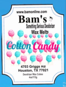 Image of Cotton candy wax melt