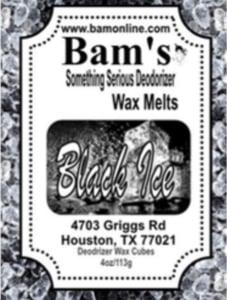 Image of Black ice wax melt