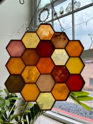 Image of Large Honeycomb Light Catcher A