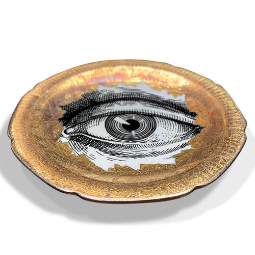 Image of Lover's eye C - #0753 - ENGRAVED GOLD DELUXE EDITION