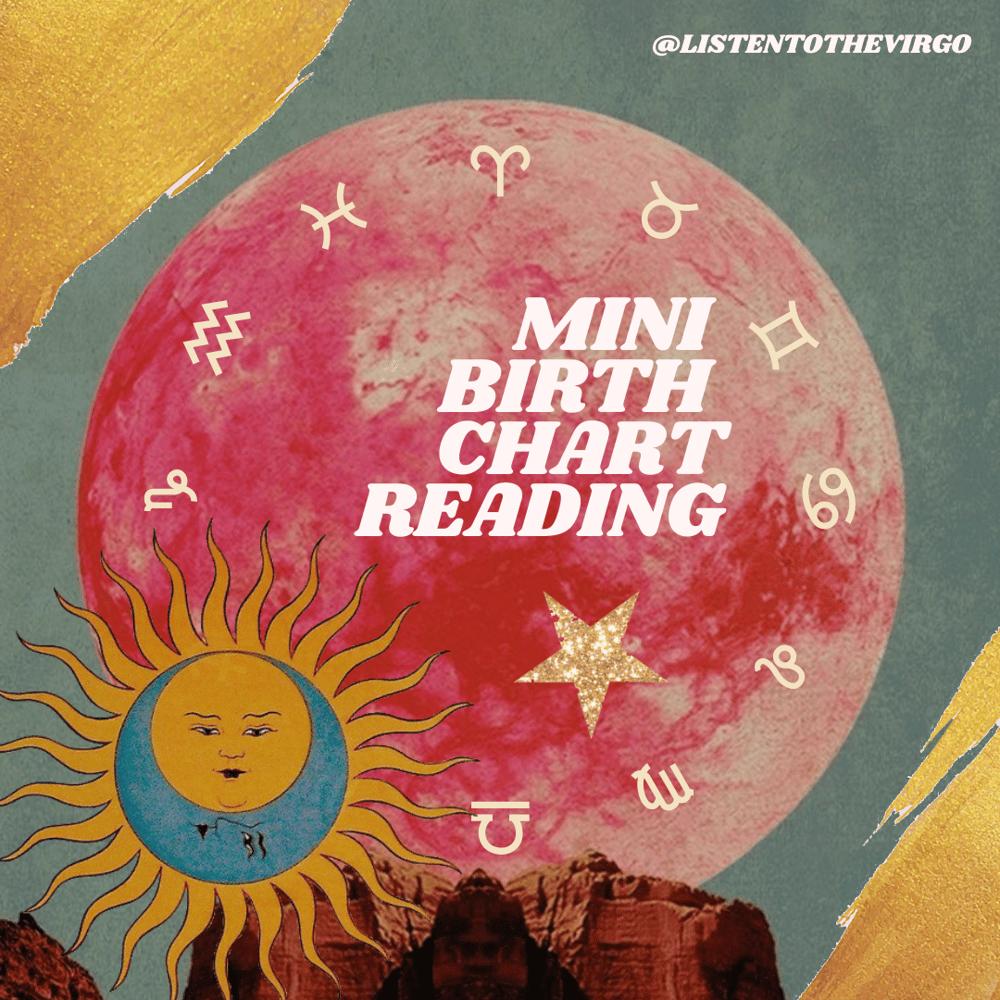 Image of Mini Birth Chart Reading