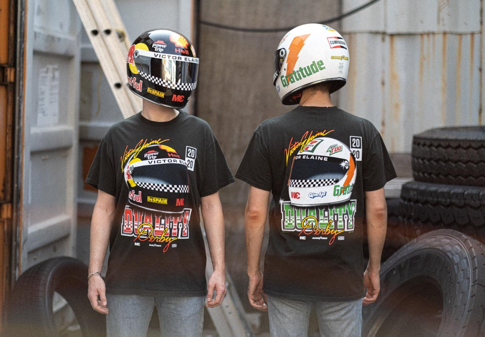 Image of Duality Derby Helmet Shirt