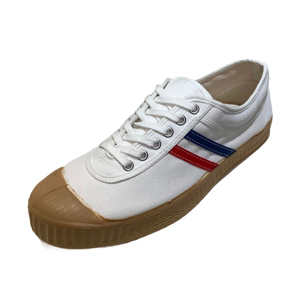 Image of Inn-stant tricolour vintage lo top sneaker shoes made in Slovakia