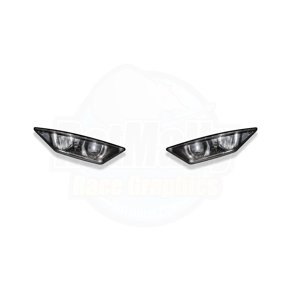 Image of Headlight Stickers to fit Honda CBR1000RR SP 2020