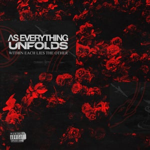"""Image of As Everything Unfolds """"Within Each Lies The Other"""" + Shirt """"AEU"""" LP-Bundle"""