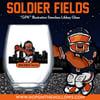 PRE-ORDER - SOLDIER FIELDS - 15oz Libbey Stemless Glass