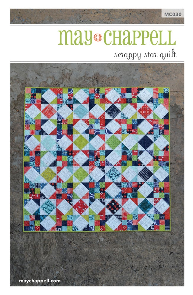 Image of Scrappy Star Quilt