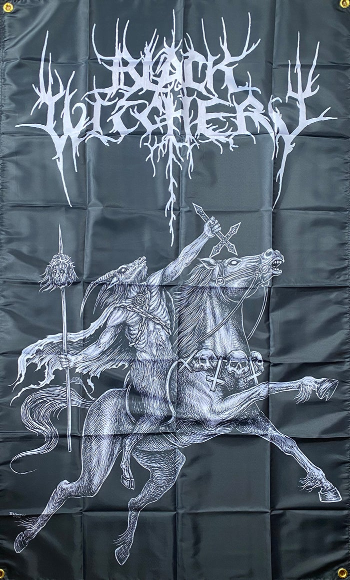 Image of Black Witchery - Flag / Banner / Tapestry