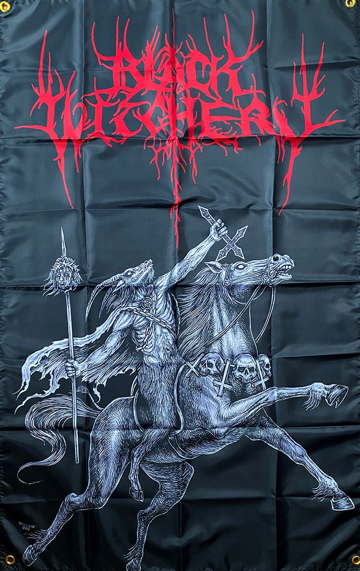 Image of Black Witchery - Banner / Flag / Tapestry