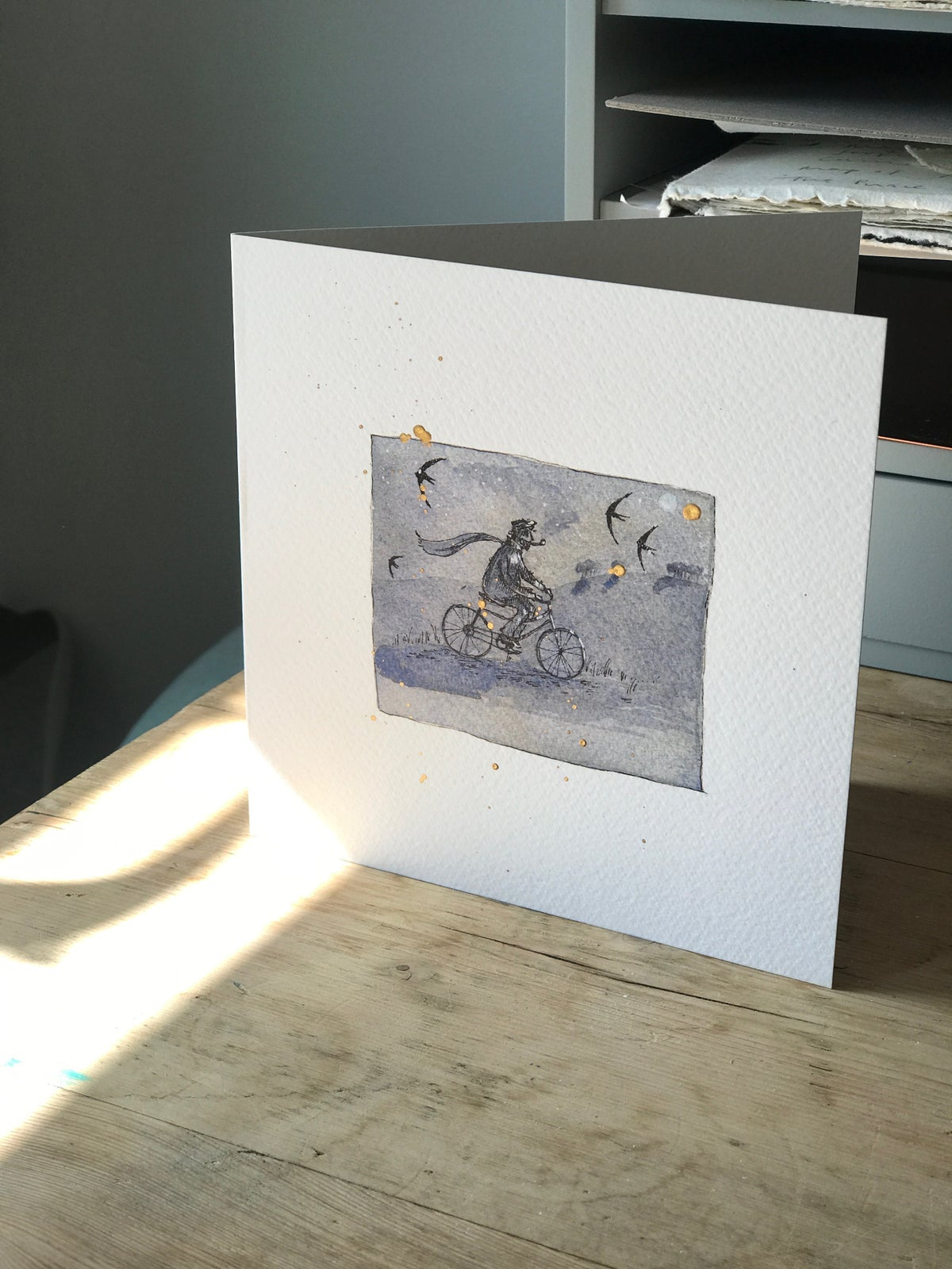 Image of Going Back Home card