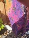 COSMOS kaftan dress Rainbow