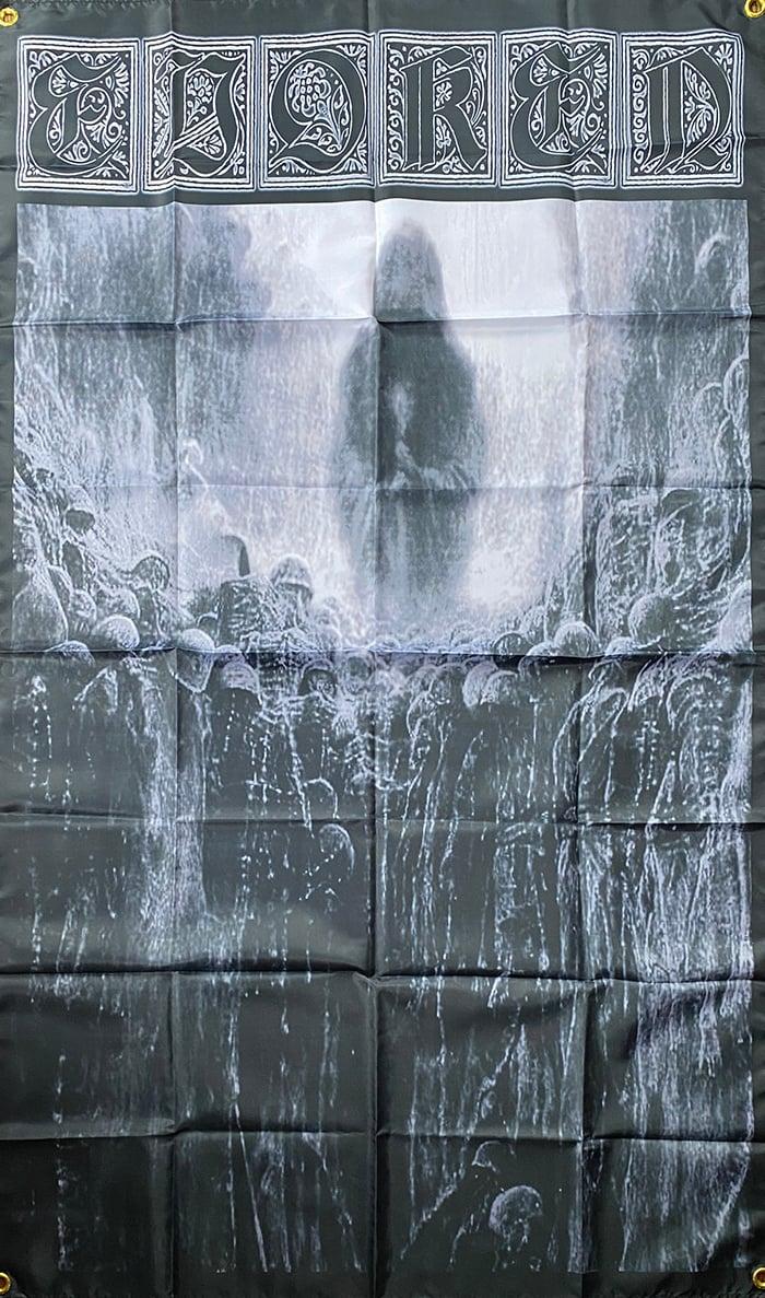 """Image of Evoken  """" Antithesis of Light """" Flag / Banner / Tapestry"""