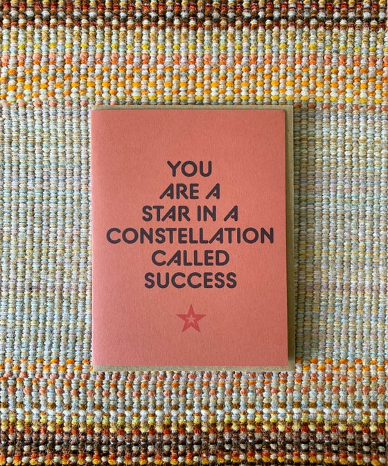 Image of You are a Star-Card